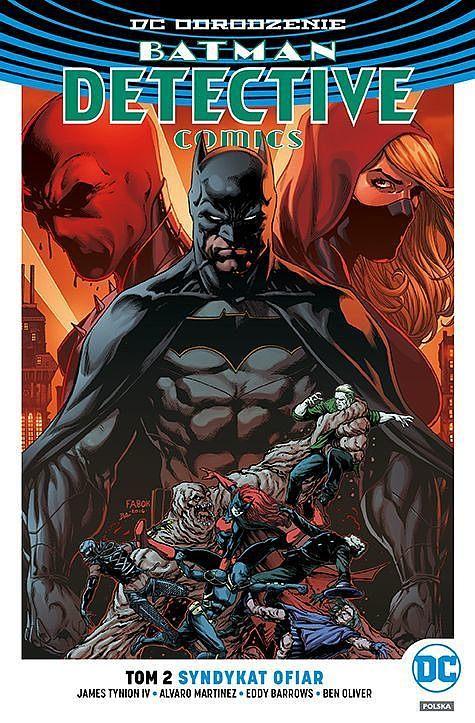 Okładka komiksu Batman - Detective Comics tom 2 - Syndykat ofiar