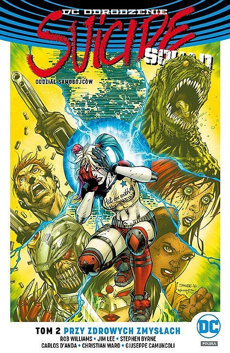 Okładka komiksu Suicide Squad tom 2: Przy zdrowych zmysłach