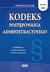 Kodeks postępowania administracyjnego 2018.