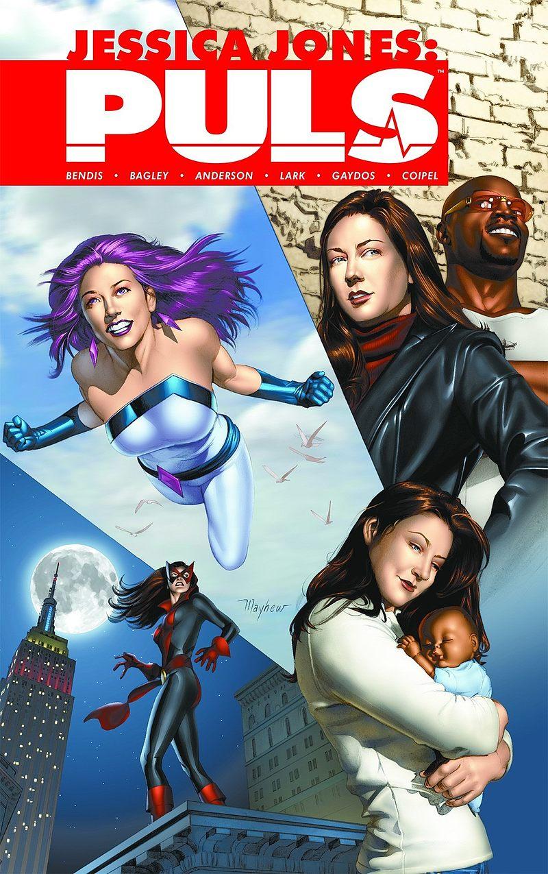 Okładka komiksu Jessica Jones: Puls