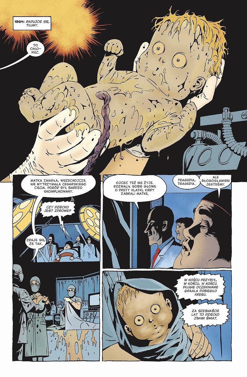 Strona komiksu Kaznodzieja tom 4